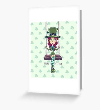 Saint Patrick's Greeting Card