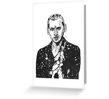 The Doctor Cosmic - Nine  Greeting Card