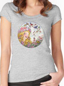 Summer Goddess Women's Fitted Scoop T-Shirt