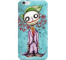 Evil Laughing Clown iPhone Case/Skin