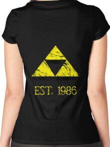 Fan Base - Established 1986 Women's Fitted Scoop T-Shirt