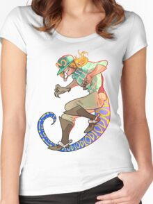 scary monsters Women's Fitted Scoop T-Shirt