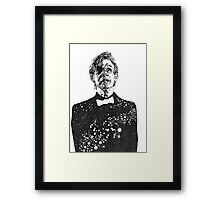 The Cosmic Doctor - Eleven  Framed Print
