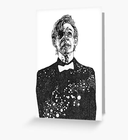 The Cosmic Doctor - Eleven  Greeting Card