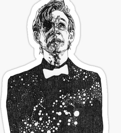 The Cosmic Doctor - Eleven  Sticker