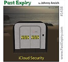 Cartoon :  iCloud Security Photographic Print