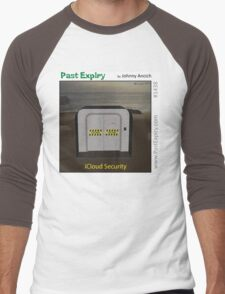Cartoon :  iCloud Security Men's Baseball ¾ T-Shirt