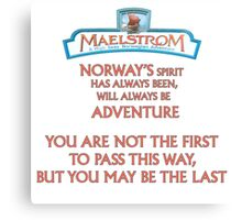 Maelstrom from Epcot Norway Canvas Print