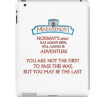 Maelstrom from Epcot Norway iPad Case/Skin