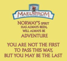 Maelstrom from Epcot Norway One Piece - Short Sleeve