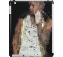 Painted Justin Bieber iPad Case/Skin