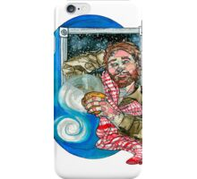 man with evening coffee iPhone Case/Skin