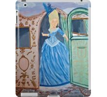 Marie Antoinette Stepping Out of Carriage  iPad Case/Skin