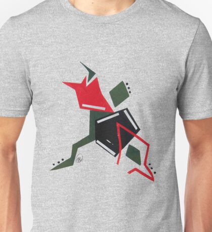 Abstract - Red/Green  Unisex T-Shirt