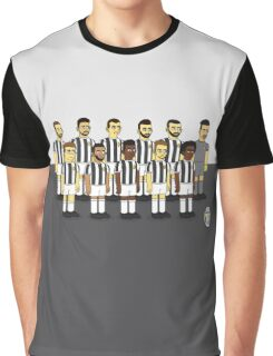 Juventus as simpson style Graphic T-Shirt