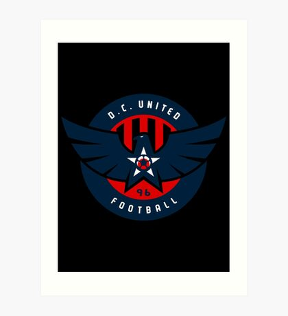 dc united Art Print