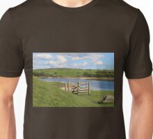 Fence by the Lake Unisex T-Shirt