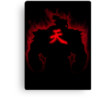 Akuma: Raging Demon Canvas Print