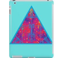 warm electric triangular space iPad Case/Skin