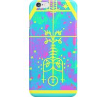 cool electric triangular space iPhone Case/Skin