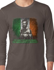 McGregor - Apologize to Nobody Long Sleeve T-Shirt