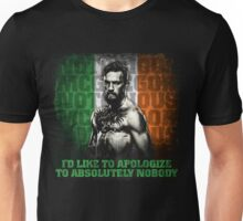 McGregor - Apologize to Nobody Unisex T-Shirt