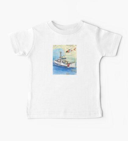 USCG Storis Nautical Chart Map Cathy Peek Baby Tee
