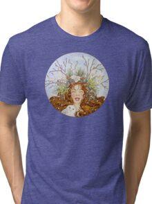 Winter Goddess Tri-blend T-Shirt