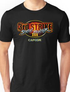 Street Fighter III: 3rd Strike (Capcom) logo Unisex T-Shirt