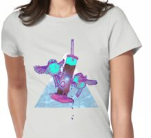 Beautiful Space Tits Womens Fitted T-Shirt