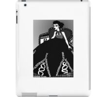 Black and White Ball Gown iPad Case/Skin