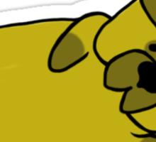 The Yoga Pug Sticker