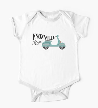 KnoxvilleT-shirt - Moped Scooter One Piece - Short Sleeve