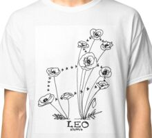 Floral Constellation - Leo Classic T-Shirt