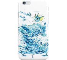 Vaporeon's Whirlpool iPhone Case/Skin