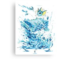 Vaporeon's Whirlpool Canvas Print