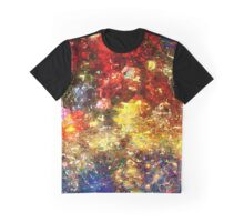 Bouquet of Flowers Abstract Graphic T-Shirt