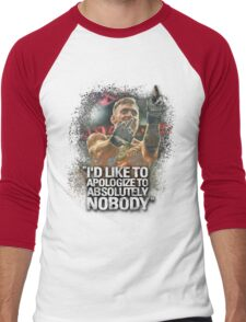 McGregor - I'd Like To Apologize To Absolutely Nobody Men's Baseball ¾ T-Shirt