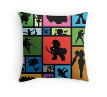 New Challengers Approaching Throw Pillow