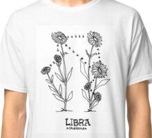 Floral Constellation - Libra Classic T-Shirt
