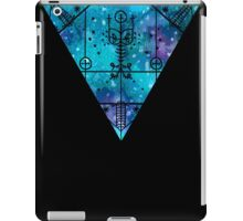 inverted space triangle iPad Case/Skin