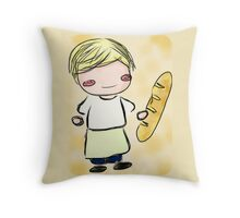 Peeta Mellark Chibi Throw Pillow