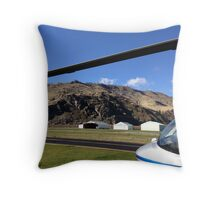 At The Hanger Throw Pillow