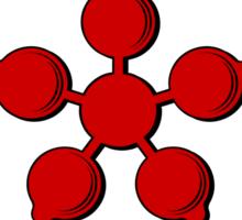 Weldon Coat of Arms (English) Sticker