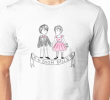 Mike and El at the Snow Ball Unisex T-Shirt