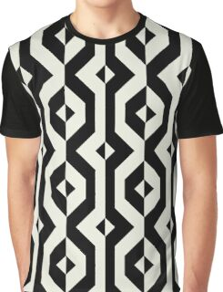 Modern bold print with diamond shapes Graphic T-Shirt