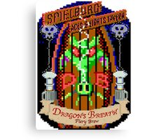 Dragon Breath - Fiery Brew Canvas Print