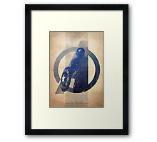 Avengers Assembled: The Soldier Framed Print