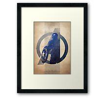 Avengers Assembled: The Soldier Framed Print