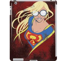 Super Geeky Girl iPad Case/Skin